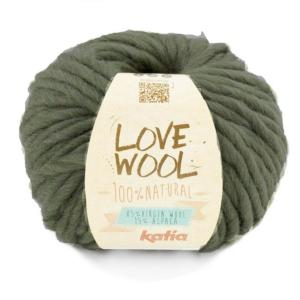 Laine Katia LOVE WOOL 100% naturelle