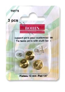 Support pin's pour customisation - 12mm -Bohin